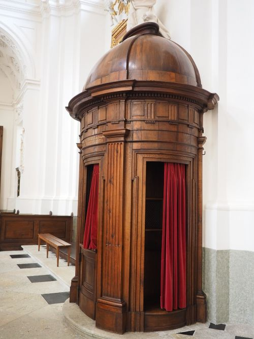 confessional oak beichthäuschen beichthäuschen