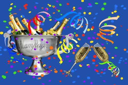 confetti streamer party