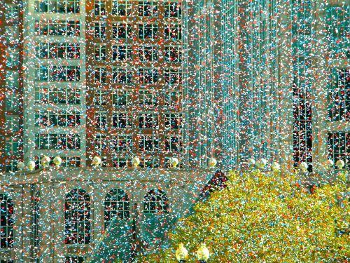 confetti festivity celebration