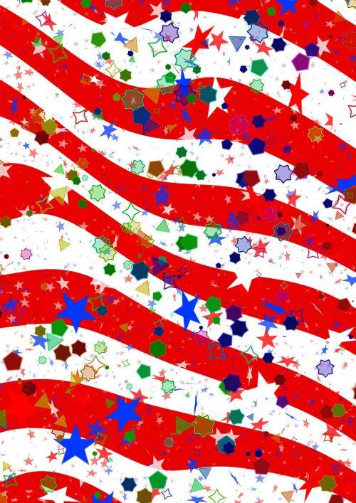 confetti star parade