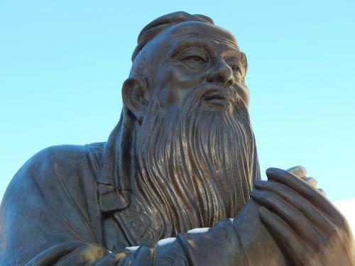 confucius statue chinese