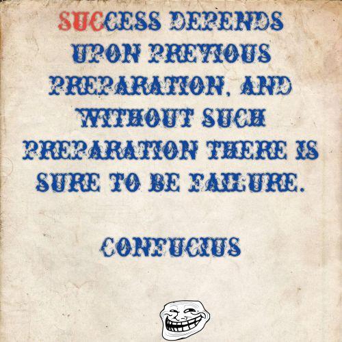 Confucius On Success