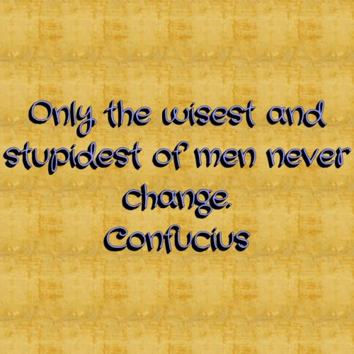 Confucius Quote On Change