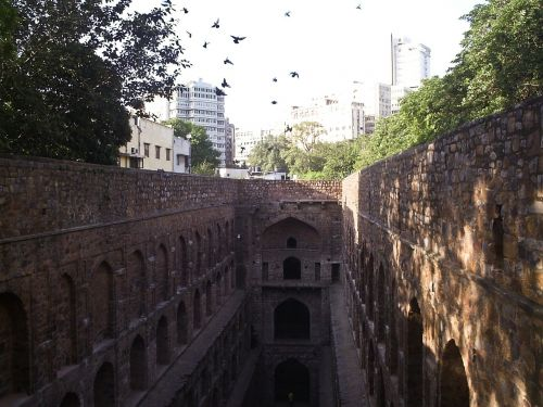 connaught place medieval architecture stepwell