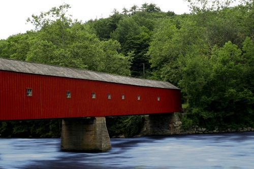 connecticut covered bridge bridge