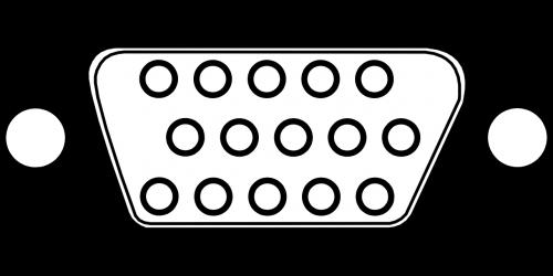 connector vga pins