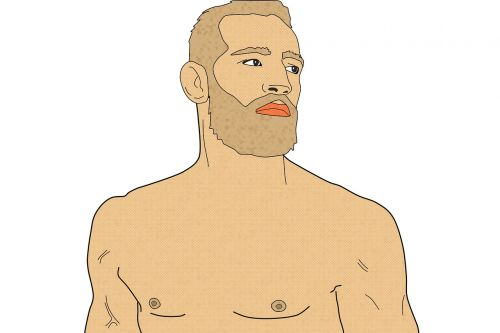 conor mcgregor fighter man