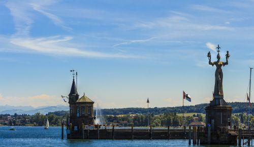 constance port lake constance