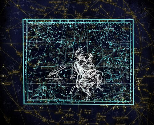 constellation  constellation map  zodiac sign