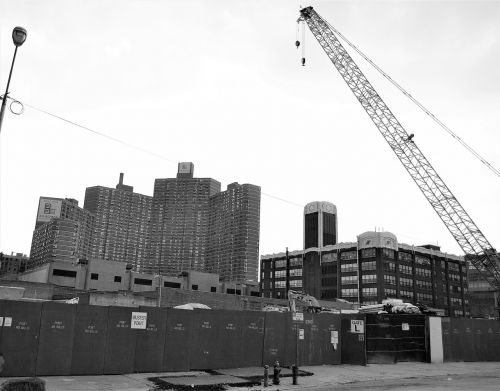 construcion site harlem new york