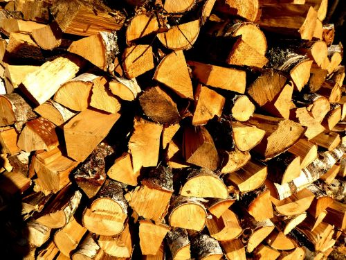 construction bath firewood