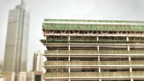 construction building city