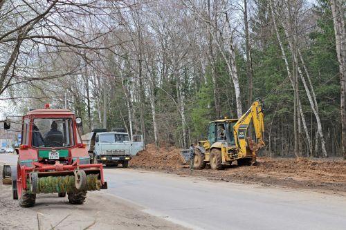 construction repair road