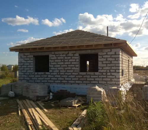construction house new house