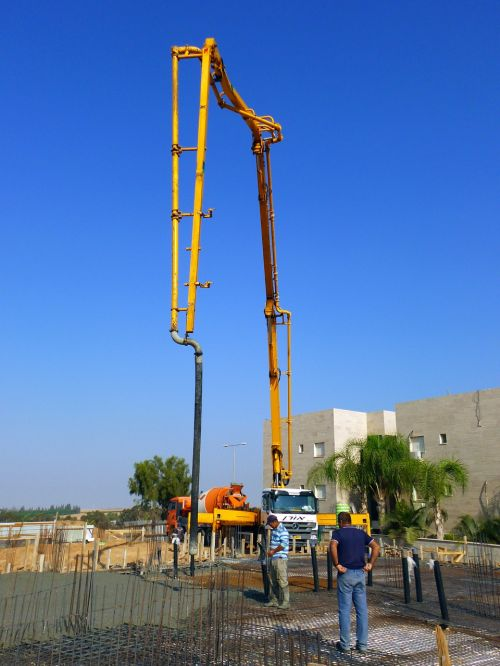 construction concrete pump concrete