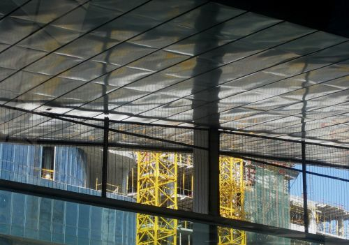 construction roof poles