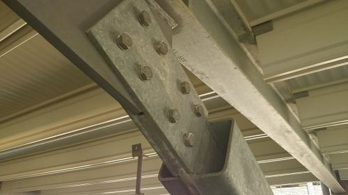 construction blanket steel beams
