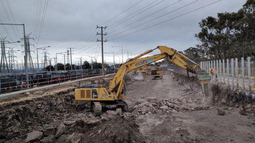 construction machinery rock-breaker