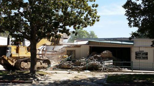 construction demolish wreck