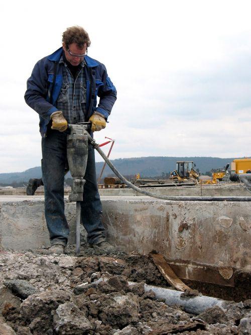 construction jackhammer equipment