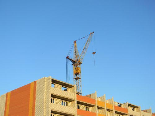 construction crane hoisting jib crane