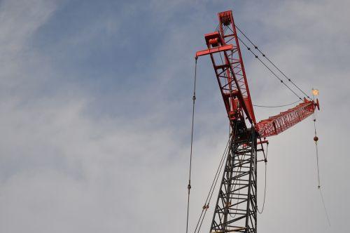 construction crane sky