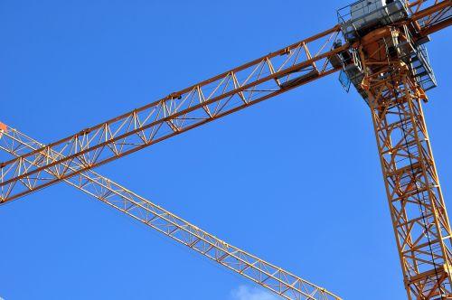construction cranes crane baukran