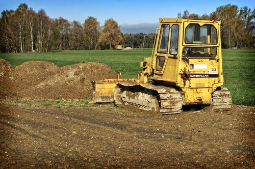 construction machine caterpillar bulldozer