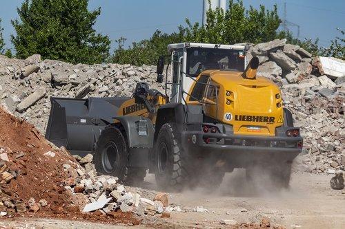construction machine  site  wheel loader