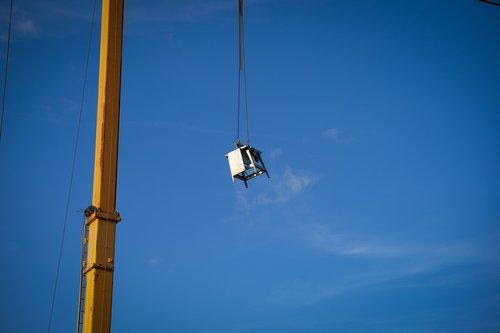 construction machine  crane  high