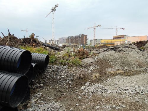 construction site tubes tube