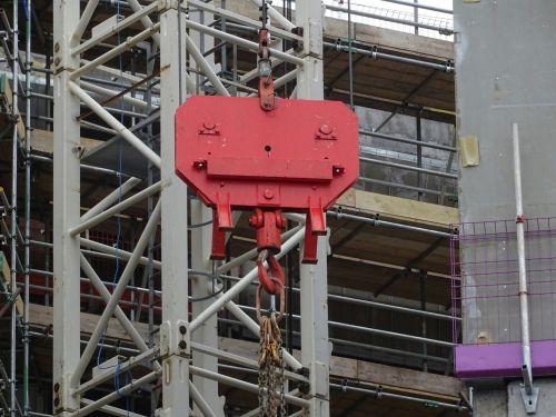 Construction Site Crane Hook