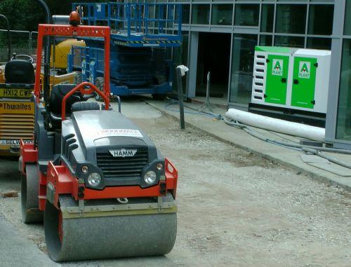 statyba, svetainė, svetaines, būgnas, volas, volai, įranga, augalas, mašina, mašinos, mašinos, statybvietės būgno volas