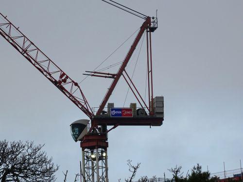 Construction Site Tower Crane