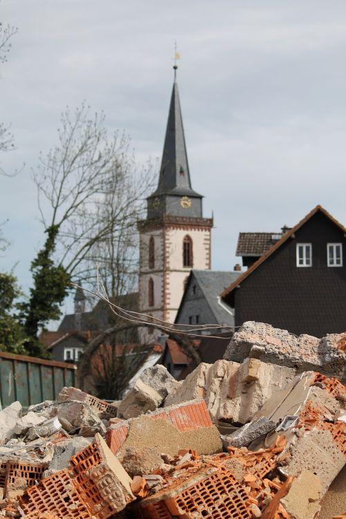 construction work church oberursel