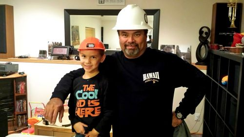 construction worker man father