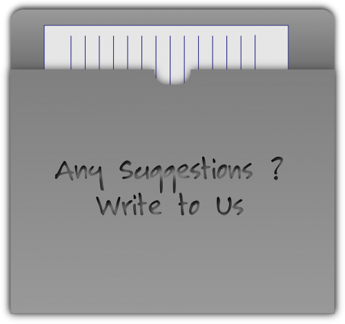 contact feedback letter