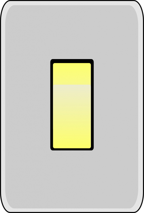 contact-breaker light switch cutout