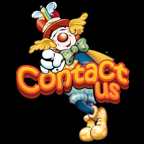 contact us note mascot