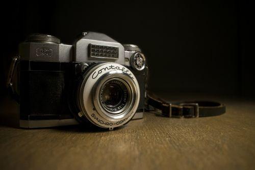 contaflex photography camera
