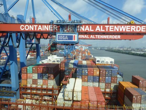 container container gantry crane hamburg