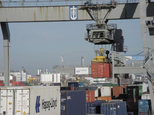 container crane port