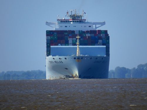 container ship maritime