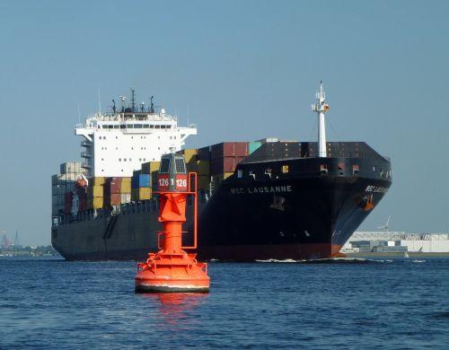 container maritime ton