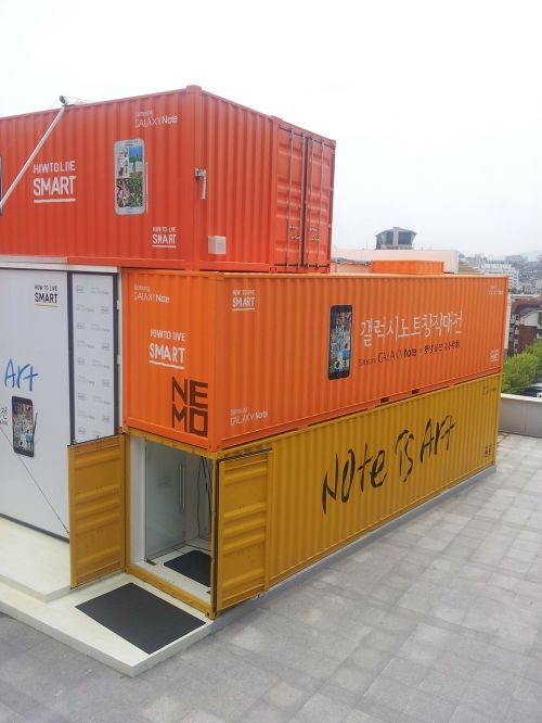container box orange