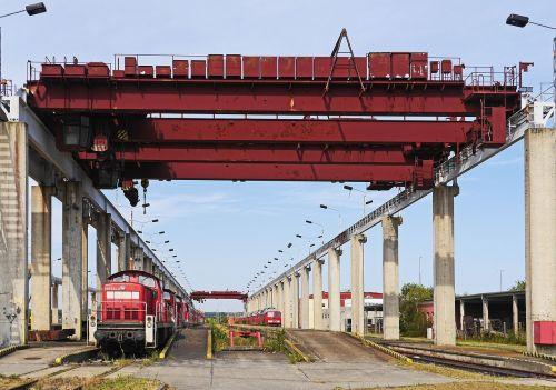 container portal cranes bridge cranes
