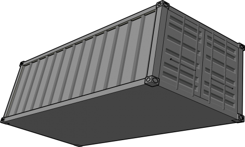 container shipping trucking