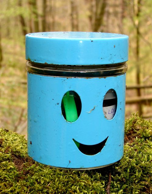 container canning geocaching
