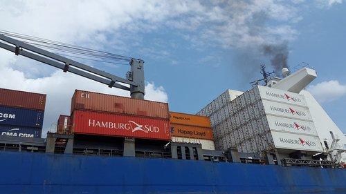 container  hamburg  port