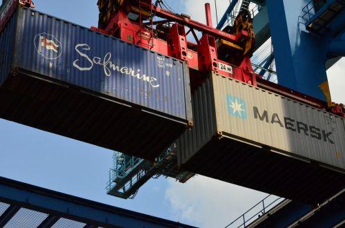 container container crane port